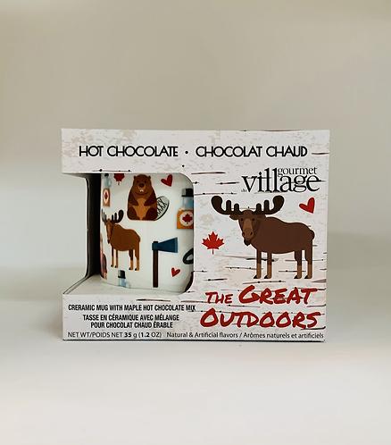 Ensemble tasse et chocolat chaud de Gourmet Village