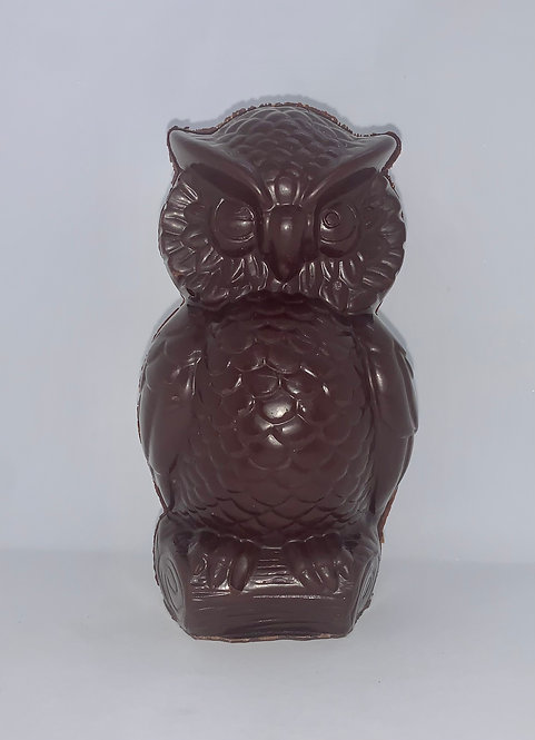 Hibou chocolat belge au noir (Cueillette à la boutique)