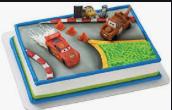 Gâteau Les bagnoles