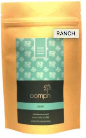 Assaisonement à maïs soufflé Ranch OOMPH