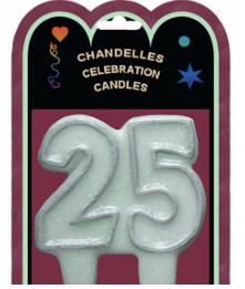 Chandelle 25e anniversaire
