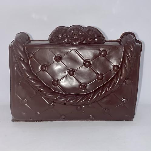 Sac à main chocolat belge noir