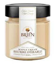 Beurre d'érable 330 g.Les douceurs de l'érable Brien