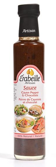 Sauce poivre de Cayenne et chocolat  Érabeille