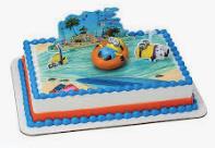 Gâteau Les minions (Cueillette en magasin)
