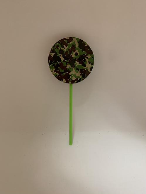 Suçon chocolat belge noir camouflage