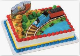 Gâteau Thomas le train (Cueillette en magasin)