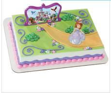 Gâteau Princesse Sofia Décopac