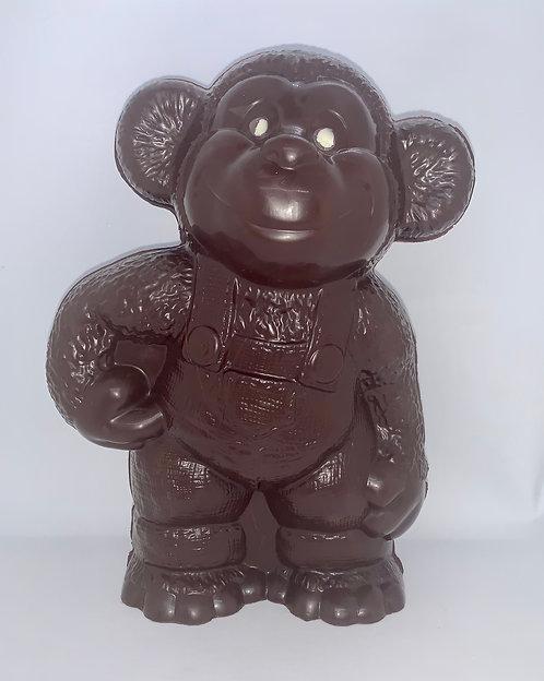 Gros singe chocolat belge au noir (Cueillette à la boutique)