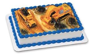 Gâteau Construction (Cueillette en magasin)