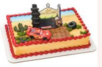 Gâteau Les Bagnoles Décopac