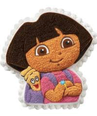 Moule à gâteau Dora #66 (Cueillette en magasin)
