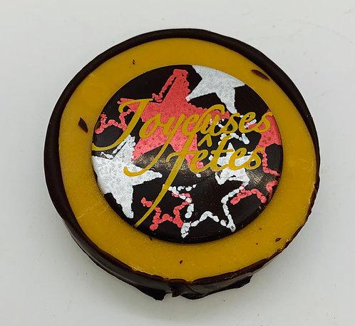 Fudge vanille chocolat Joyeuses Fêtes