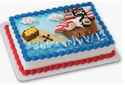 Gâteau Les pirates (Cueillette en magasin)