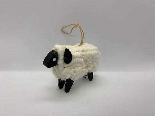 Ornement des fêtes mouton