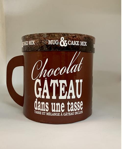Tasse et mélange de gâteau au chocolat  de Gourmet Village