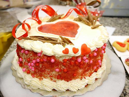 Gâteau St-Valentin  (Cueillette en magasin)