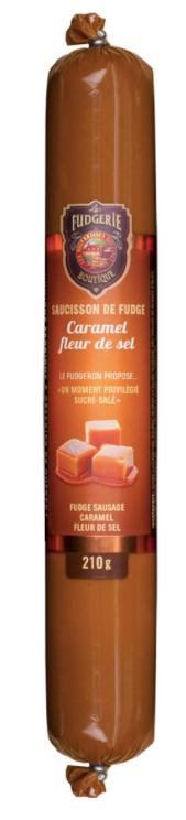 Fudge caramel fleur de sel La Fudgerie