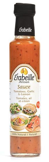 Sauce tomates, ail et citron Érabeille