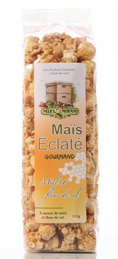 Maïs éclaté miel et fleur de sel Miel Morand