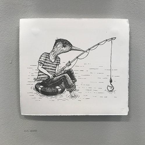 """Fishing for the heart"" - Gijs Vanhee"