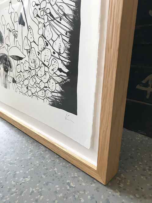 Ruw eiken frame