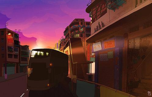 Sunset corner