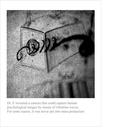 Dr. E invented a camera that could capture human