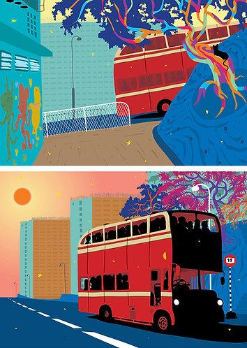 No 15 bus stop