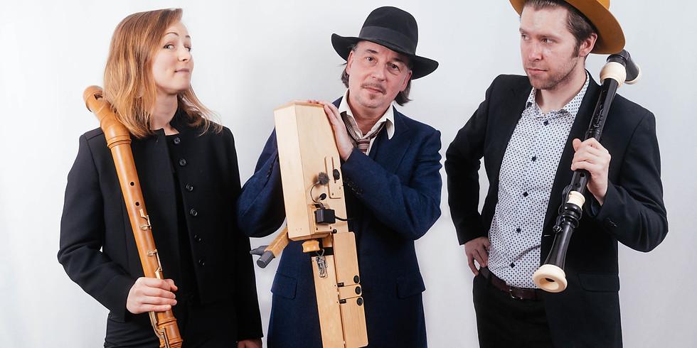 Bazooka Sub Trio - Folkflöjthelg (Stockholm)