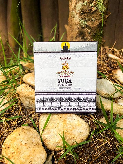Incenso Cone Cascata - Yoga