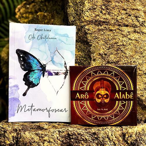 Livro Metamorfosear + CD Arô de Alabê Ina Ti Ayê