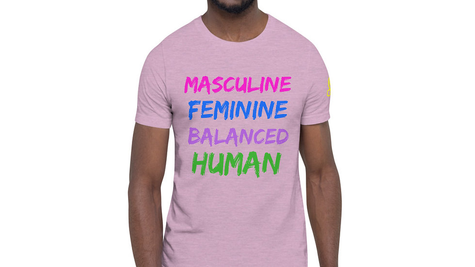 Balanced Human Short-Sleeve Unisex T-Shirt
