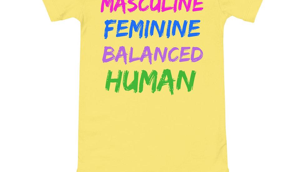 Balanced Human Baby