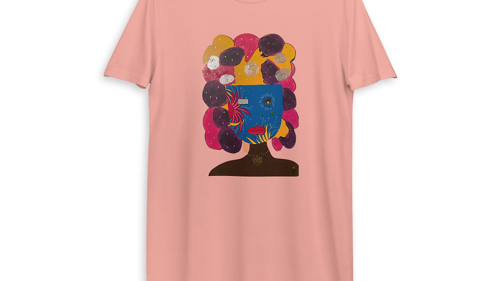 Omo Obinrin (daughter) Organic cotton t-shirt dress