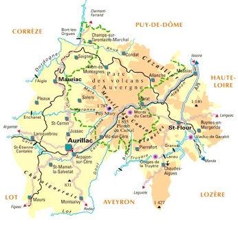 Plan d'accés au camping la Bédisse