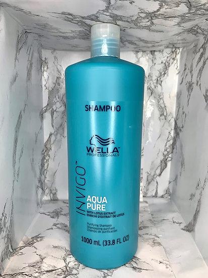 Wella Invigo Aqua Pure shampooing purifiant 1000 ml