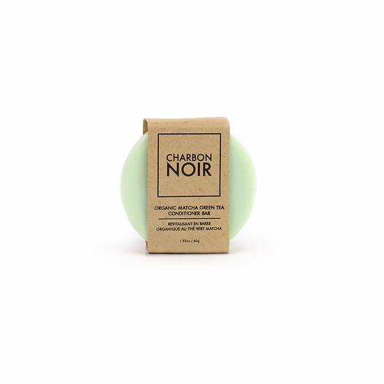 Charbon noir revitalisant thé vert matcha