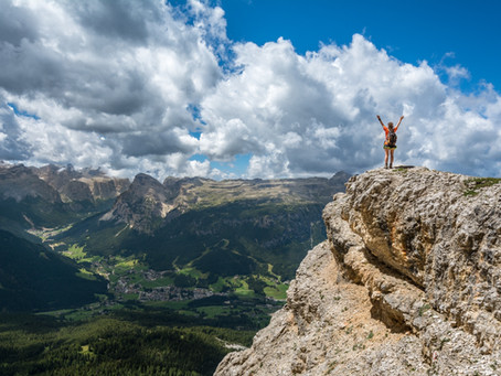 What we learn from climbing mountains