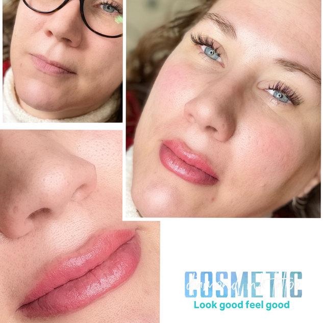 Natural looking Lip Blush