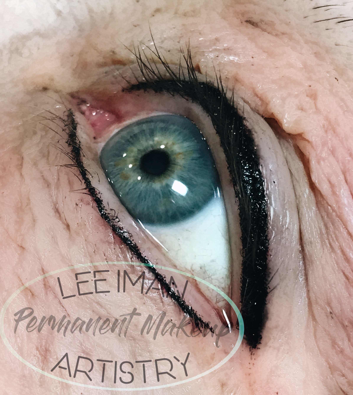 Basic liner lower lash enhancement