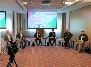 Panelová diskuze, konference Nové trendy v podnikání MSP