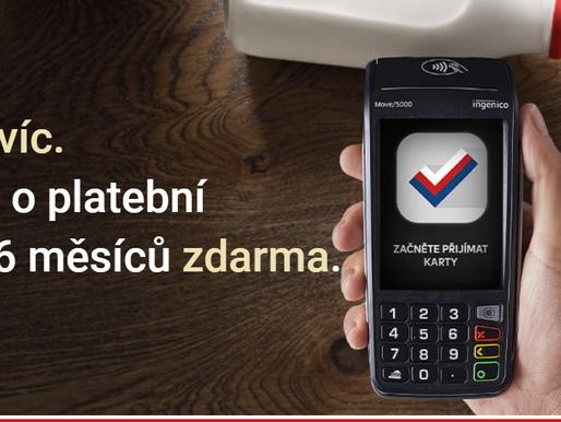 Už máte terminál zdarma? AMSP ČR koordinuje kampaně v projektu Česko platí kartou!