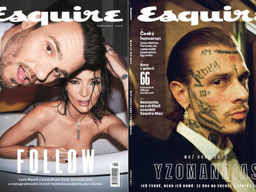Měsíčník Esquire je nejpopulárnějším pánským magazínem v Česku. Letos slaví 25 let na trhu.