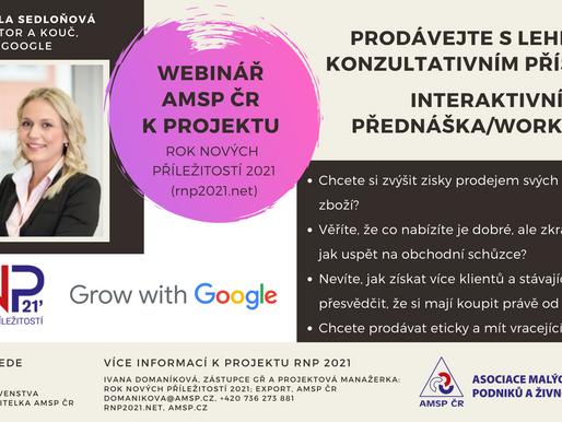 Interaktivní workshop s Google: Prodávejte s lehkostí konzultativním přístupem