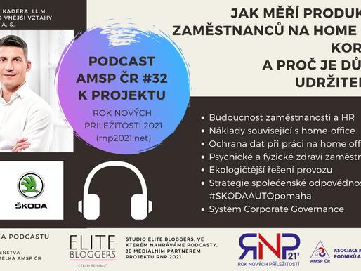 Podcast AMSP ČR #32, Jak měří produktivitu zaměstnanců na Home Office korporát