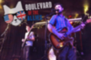 Boulevard of the Allies are an Indie Rock band based in Pittsburgh specializing in edgy, original tunes.