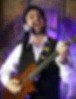 SINGER GUITARIST JOEL LINDSEY