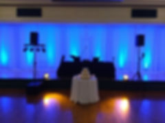 Joel Lindsey Entertainment - Uplighting at Soldiers and Sailors (32 lights in room)