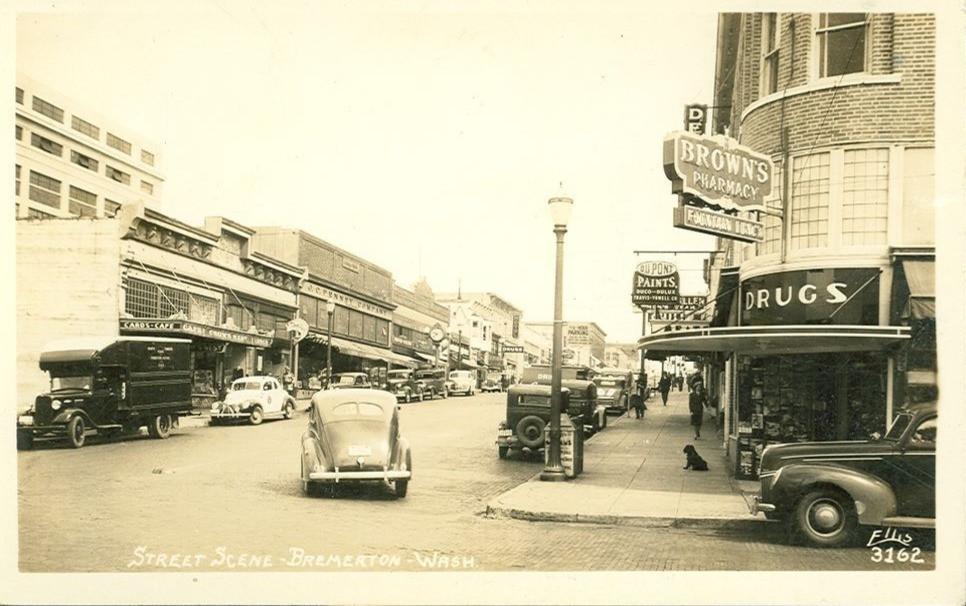 Downtown Bremerton 1940
